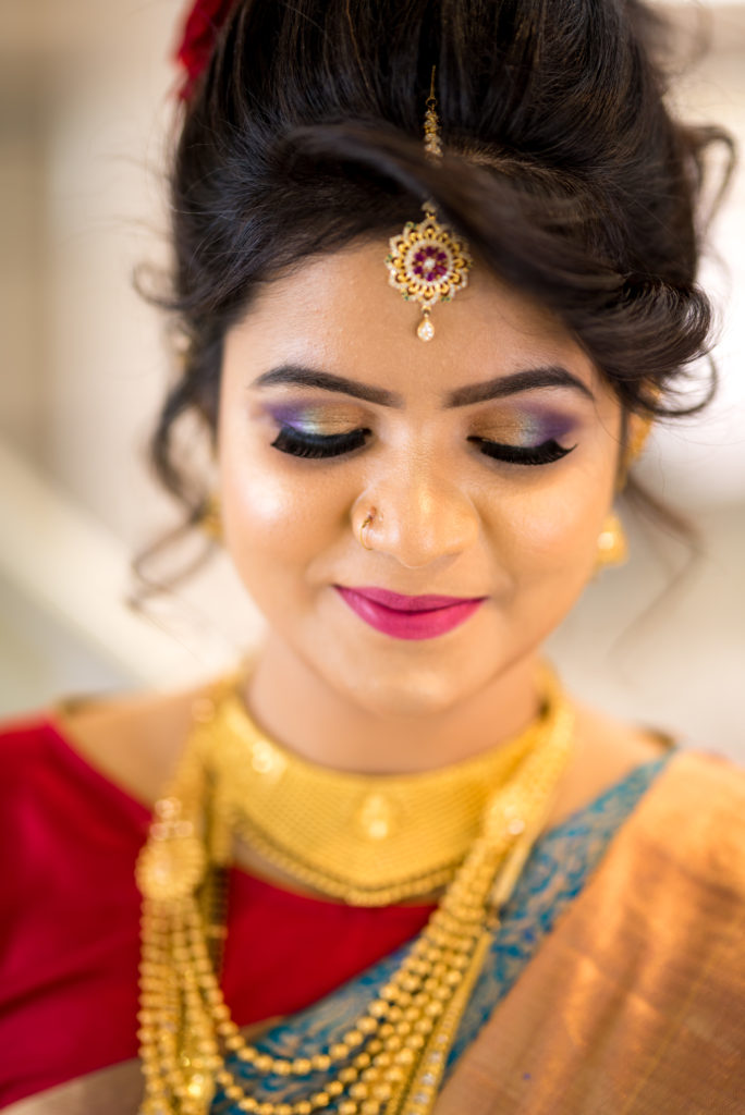 makeup and hairstyle for wedding