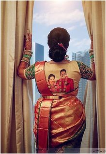 south indian blouse work,