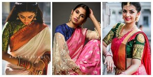 South Indian Blouse Designs
