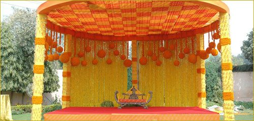 simple wedding mandap designs,